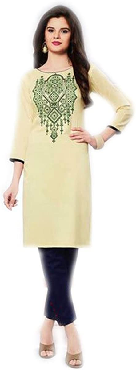 Jayayamala Modern Design Tunic Thread Work Blouse Tunic for Ladies