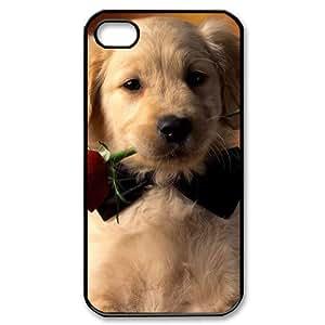 Hard Shell Iphone 4/4s hard Case Of Dog ,Customized Bumper Plastic case