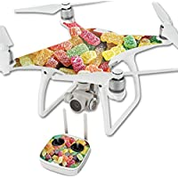 MightySkins Skin For DJI Phantom 4 Quadcopter Drone – Sour Candy Protective, Durable, and Unique Vinyl Decal wrap cover | Easy To Apply, Remove, and Change Styles | Made in the USA