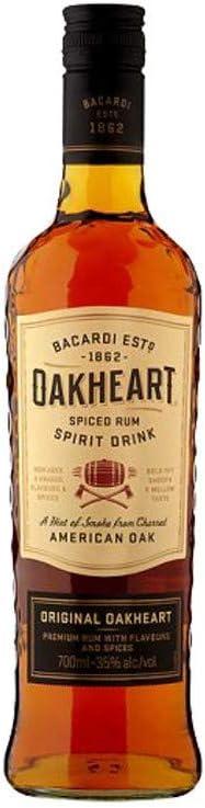 Bacardi Ron Oakheart Spiced - 1000 ml