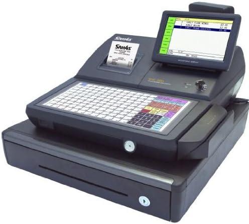 Sam4s SPS-530 2 in1 caja registradora y pantalla táctil (versión de teclado plano): Amazon.es: Electrónica
