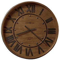 Howard Miller 625-453 Wine Barrel Gallery Wall Clock