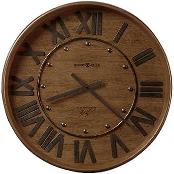 Amazon Com 1 4 Wine Barrel Head Wall Clock Solid Oak