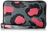 Marc by Marc Jacobs Printed Divine Leopard Wingman Wristlet, Raspberry Sorbet Multi, One Size