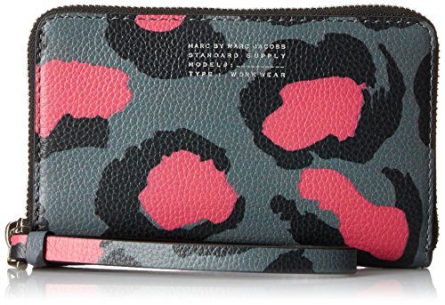 Marc by Marc Jacobs Printed Divine Leopard Wingman, Raspberry Sorbet Multi ()