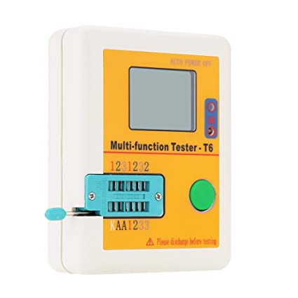 Amazon.com: Zytree(TM)Hot Sale LCR-T6 Multi-functional Transistor Tester LCD Backlight ransistor Detector MOSFET NPN PNP Triac MOS Detector: Home ...