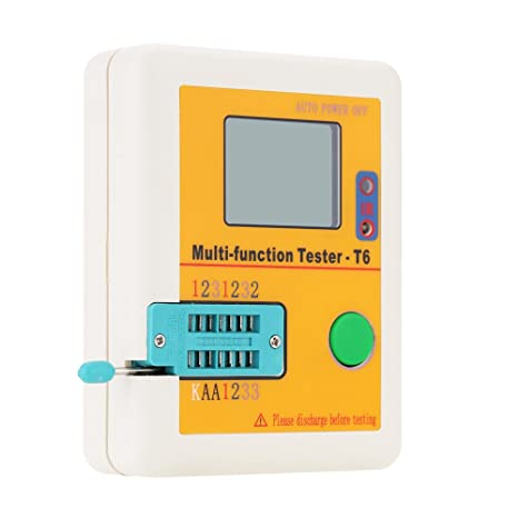 Hot Sale eKugoTM LCR-T6 multi-functional pantalla LCD Transistor Tester Detector ransistor novela de poca MOSFET MOS PNP periodicucho Detector: Amazon.es: ...