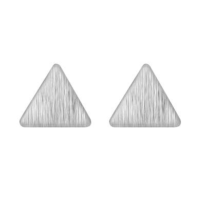 03445e5e8 Women's Mini Geometric Triangle Stud Earring 925 Sterling Silver Girl  Wedding Gift Minimalist Jewelry