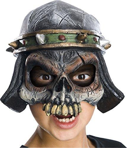 Chinless Dark Skull Adult Vinyl Mask - Child's Nomadic Chinless Horror
