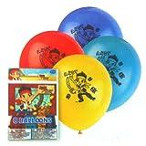 "24 Jake & The Neverland Pirates 11"" Latex Balloons"