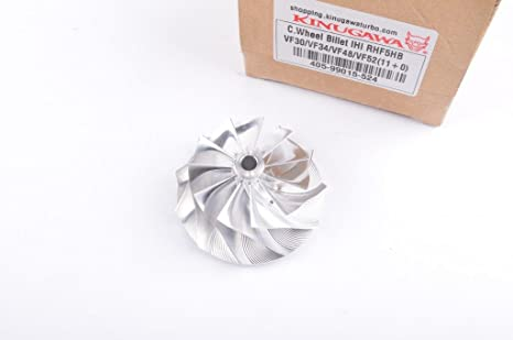 Kinugawa 405 – 99015 – 524 Turbo Billet Compresor rueda para Subaru Ihi RHF55 rhf5hb VF30