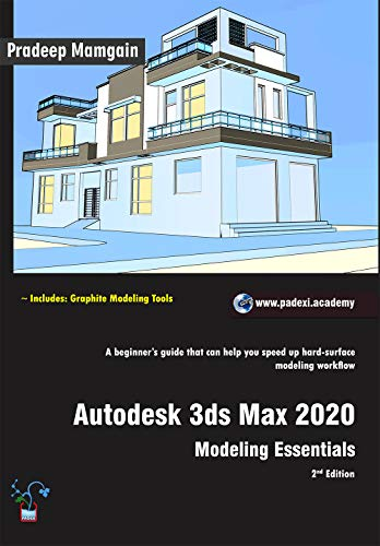 3ds Games 2020.Amazon Com Autodesk 3ds Max 2020 Modeling Essentials 2nd