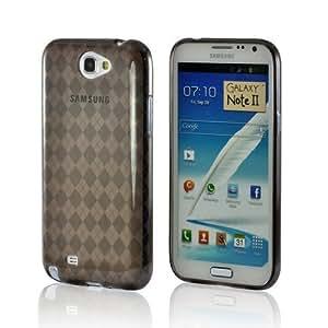 MultiPro Argyle Smoke TPU Case for Samsung Galaxy Note 2