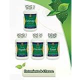 Desintoxicador 4 Productos Para Limpiar Y Desintoxicar Colon, Rinones, Vesicula, Higado Y Estomago