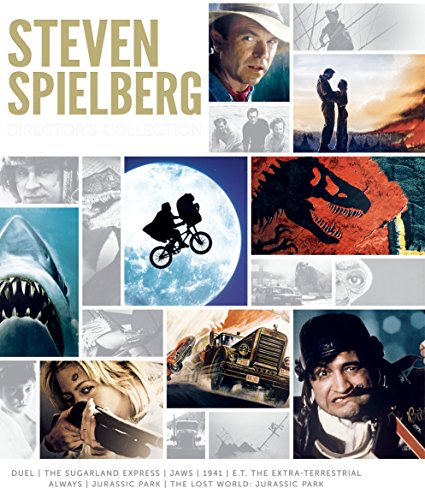 Steven Spielberg Director's Collection (Jaws / E.T. The Extra-Terrestrial / Jurassic Park / The Lost World: Jurassic Park / Duel / The Sugarland Express / 1941 / Always) (Jurassic Park Dvd The Lost World)