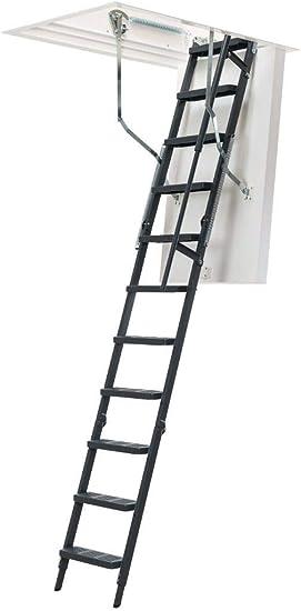 Dolle ClickFix Thermo Comfort - Escalera plegable de acero (1200 x 700 mm) (12 peldaños – Altura de techo hasta 2846 mm): Amazon.es: Bricolaje y herramientas