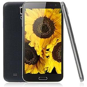Mzamzi - Gran valor estrella g8000 5.5 android 4.2.2 mtk6582 quad -core 1 4gb celular ( au) negro \
