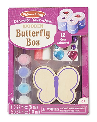 Melissa Doug Decorate Your Own Wooden Butterfly