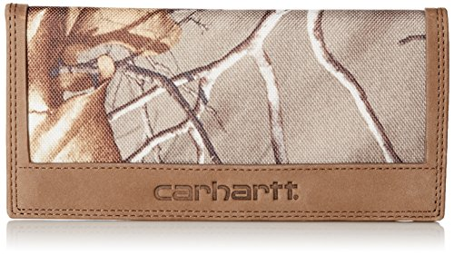 Carhartt Men's Rodeo Wallet, Real Tree, One Size (Wallets For Men Camo Leather)