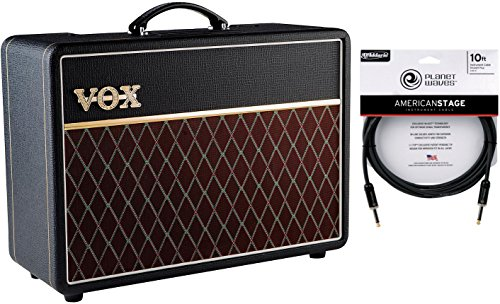 Vox AC10 10 Watt Tube Electric Guitar Combo Amplifier w/ Cable by Vox