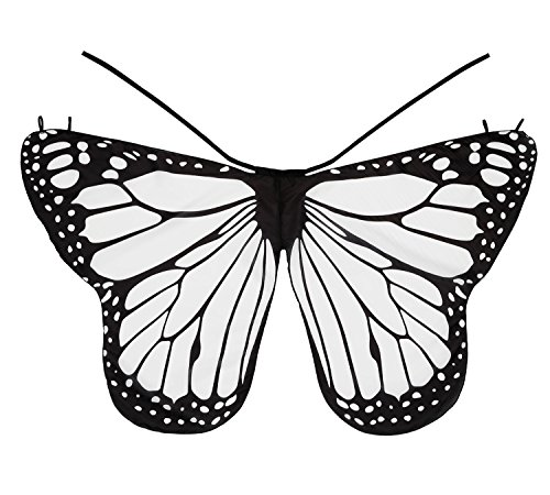Dance Fairy DIY Monarch Butterfly Cape Wings Creative Angel Wings Dress Up Costume for Kids Toddler Child, (Diy Costume Wings)