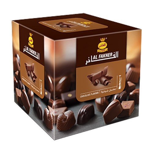 Al Fakher 250g Chocolate Flavor Hookahs By S & L With Free S and L Male and Female Mouth Piece Disposable Tips