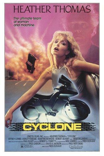 heather-thomas-in-cyclone-with-motorbike-11x17-mini-poster