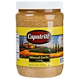 32 oz. Minced Garlic in Water - 6/Case By TableTop King