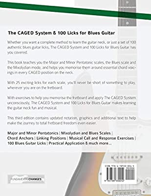 The CAGED System and 100 Licks for Blues Guitar: Learn To Play The ...