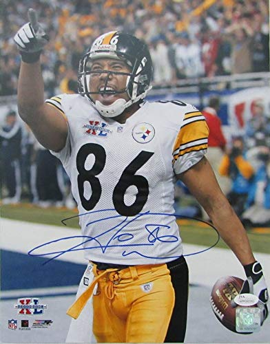 Hines Ward Steelers Signed/Autographed 11x14 Photo JSA 137118