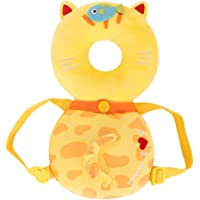 YaptheS Cute Baby Head Protector Toddlers Head Safety Pad Cushion Baby Back Protection Prevent Toddlers Injured Suitable Age 4-24 Months - Cat Nice Gift