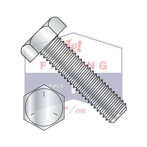 1/4-20X7 Hex Tap Bolts | Grade 5 | Zinc (QUANTITY: 300) by Jet Fitting & Supply Corp