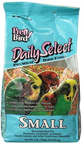 Pretty Bird International Bpb73116 2-Pound Daily Select Premium Bird Food, Small