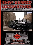 1921 Shay Geared Locomotive Engine and Parts Catalog, Shay Locomotive Works, 1935327283