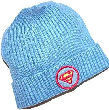 baby Gap Junk Food Boy's 2T 3T Ribbed Knit Superman Beanie Hat