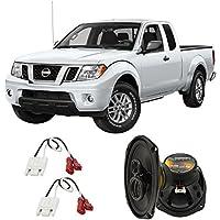Fits Nissan Frontier 2005-2015 Front Door Factory Replacement Harmony HA-R69 Speakers