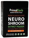 Brain Supplement for Focus, Energy, Memory & Clarity | Nootropics Stack | By Primal Herb | Herbal Extract Powder With Lions Mane Mushroom & Reishi Spores – 82 Servings – Includes Bamboo Spoon Review