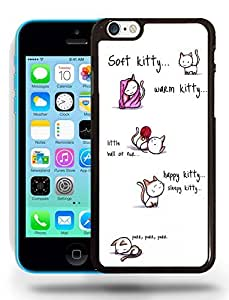 Big Bang Theory Cat Soft Kitty Warm Kitty Phone Case Cover Designs for iPhone 5C