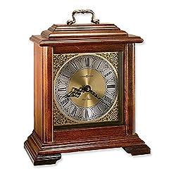 Jewelry Adviser Gifts Medford Cherry Finish Quartz Mantel Clock