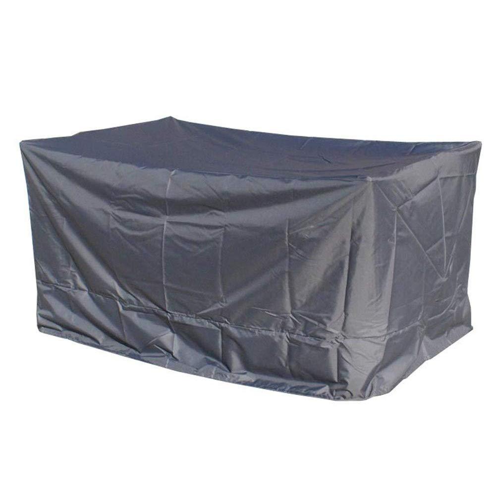 IDWOI ファニチャーカバー ガーデン家具カバー 防水 パティオテーブルと椅子セットカバー 長方形 オックスフォード布 (Size : 170x100x70cm) B07SWVNZLB  170x100x70cm