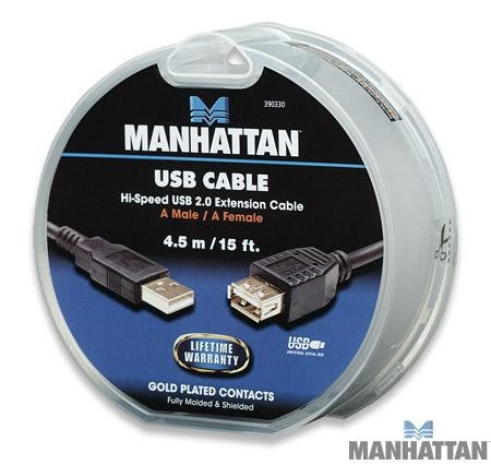 manhattan-15-feet-hi-speed-usb-20-a-male-to-a-female-extension-cable-black