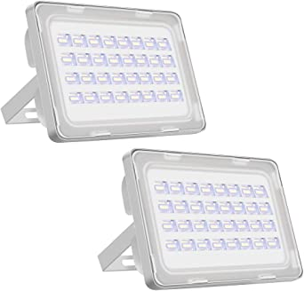 Viugreum 2 Pack 100W Focos Led IP66 Impermeable 12000LM LED ...