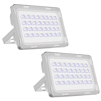 Viugreum Focos LED Exterior 2 Pack 100W IP65 Impermeable Proyector ...