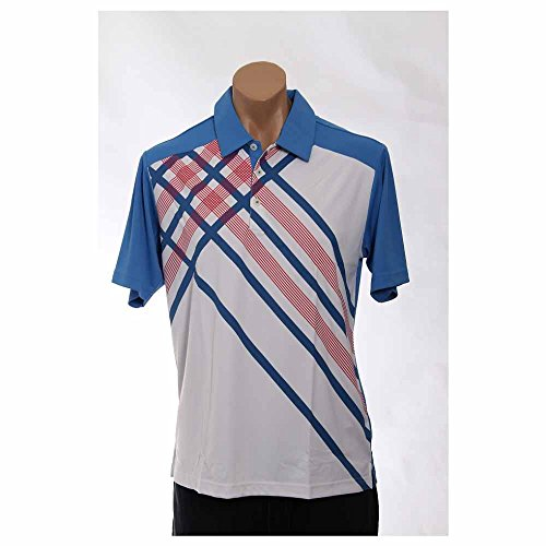 Adidas Golf Climacool Oasis (adidas Golf Men's Climacool Diagonal Plaid Polo, Oasis-Tmag/White, Medium)