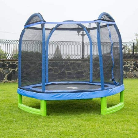 Bounce Pro Trampoline 7' My First Trampoline Hexagon