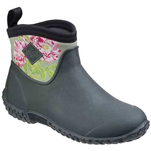 RHS Ladies Gardening Womens Muckster Muck Gallica Ankle II Shoes Rosa Green Boots xUBgq4YwO