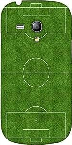 Snoogg Diseñador Campo De Fútbol Protectora Volver Funda Para Samsung Galaxy ...