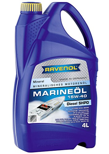 Deutz Diesel Engine - Ravenol J1V2019-004 SAE 15W-40 Marine Oil - Diesel Engines API CI-4/CF Spec Oil (4 Liter)