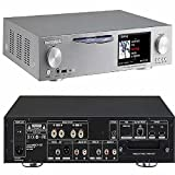 Cocktail Audio X30 All-In-One HiFi Audio System with Music Server/Network Streamer/CD Storage Ripper/Amplifier -- SILVER