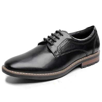 ab1a828fbc8e Black Oxfords Shoes Men s Uniform Dress Shoes Work Shoes Formal Shoes  Low-Heel Lace up